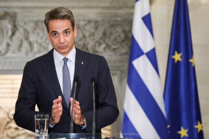 Greek PM Mitsotakis says economy to rebound 5.9% this year, outlines tax reliefs