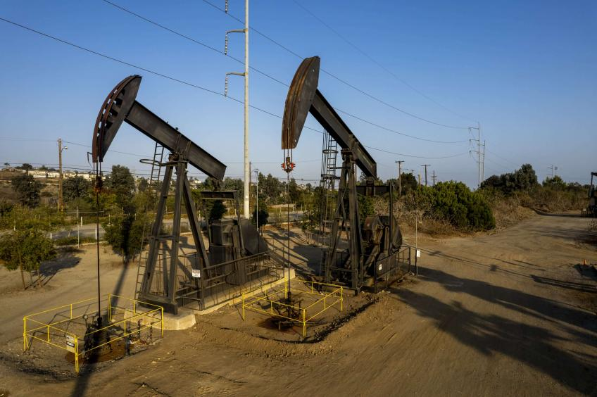 Crude oil hits highest in almost 3 years as supply tightens