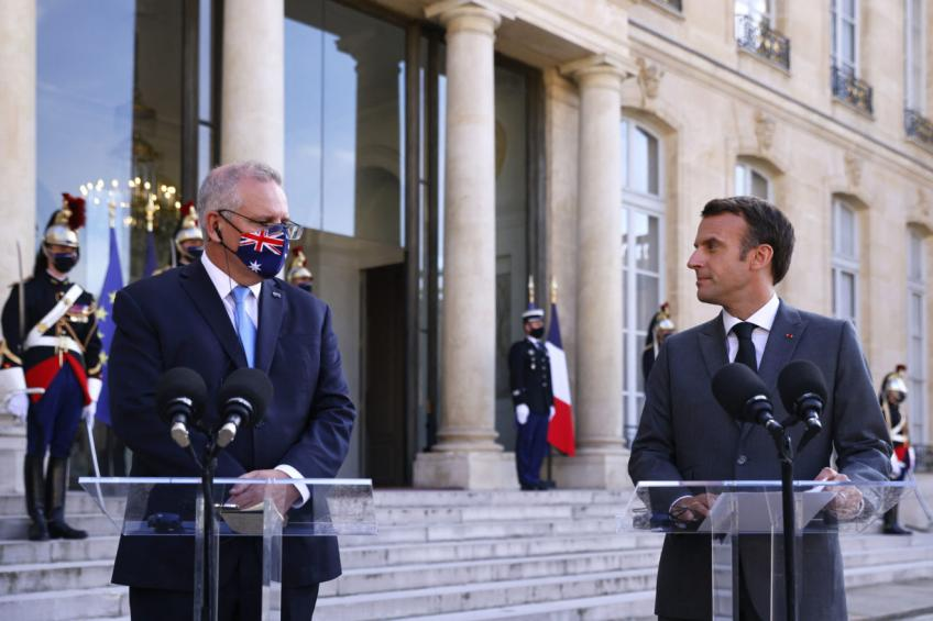 Australia sees trade deal with EU by end-2022 despite French rasp, says Trade Min.