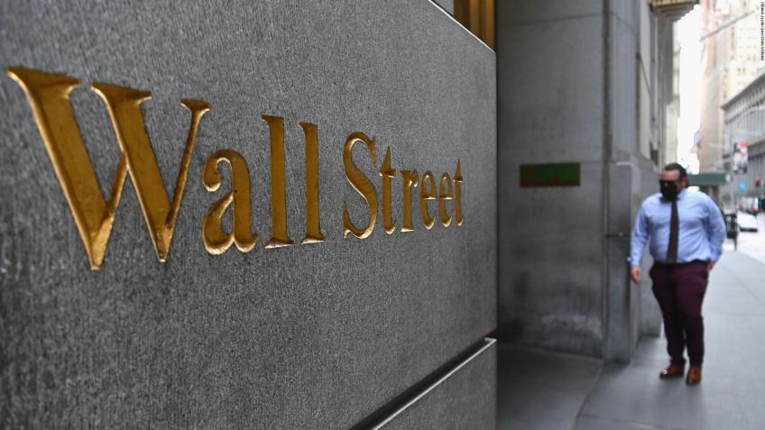 Wall St. ends up sharply higher as earning, economic data lift optimism