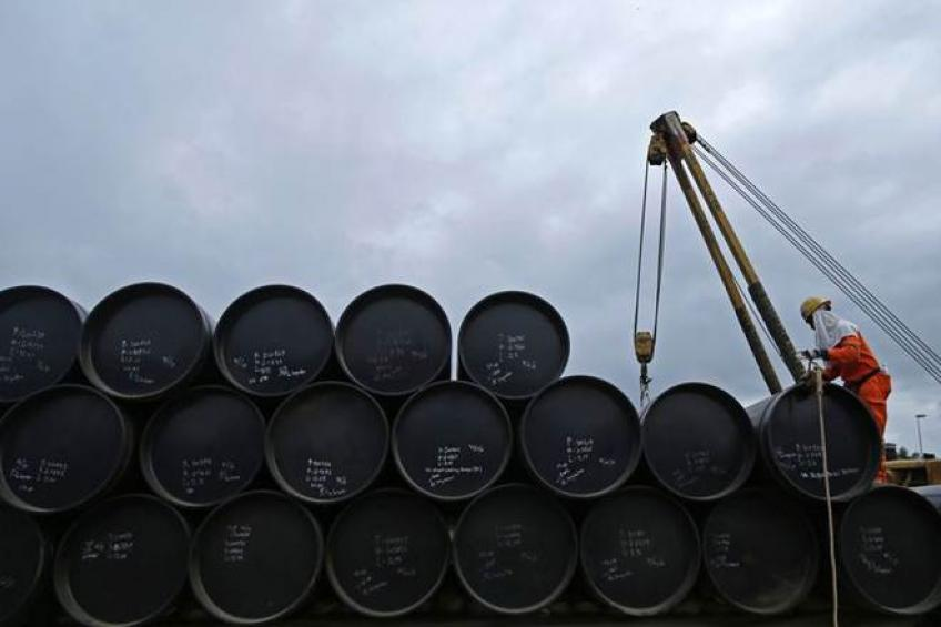 For bevy of reasons, prices of Brent and American crude fall