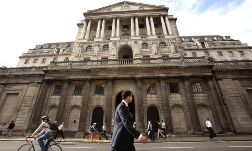 Brexit and global slowdown, double whammy weigh on Bank of England