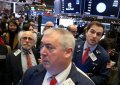 Wall St. gives up gains after Fed Chair wipes out rate-cut hopes