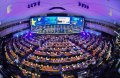 European shares rise in wake of EU election relief, Fiat-Renault merger