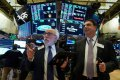 Wall St. surges as US-Iran tension points to de-escalation
