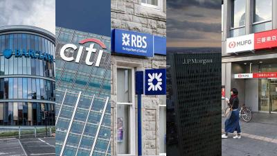 EU fines Barclays,Citi, MUFG, JPMorgan & RBS $1.2billion on FX manipulation