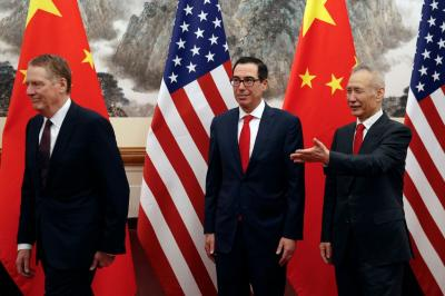 China's rough rhetoric leaves US at halfway on talks