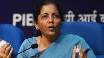 India's finance minister Sitharaman announces surprise corporate tax-cut