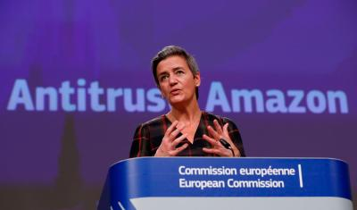 Seattle's Amazon wins $303mln court fight in blow to EU competition chief Vestager