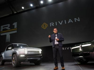 Plymouth's EV startup Rivian announces $2.5bn funding round led by Amazon, Ford